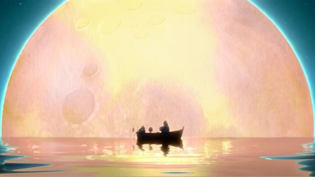 《月神》一部超暖心的治愈系动画短片,奥斯卡金像奖提名!