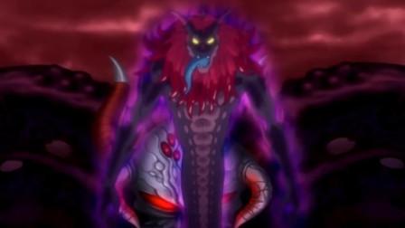 龙珠新时代第28话:转生仪式开始,贝吉塔的身体被大魔王霸占