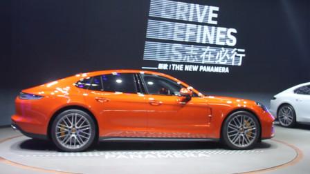 新款 Panamera 实车首秀北京车展 呈现保时捷式豪华轿车魅力