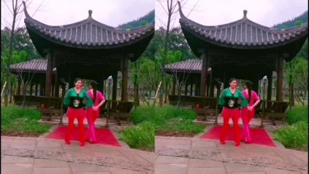 王妹儿广场舞(394号)双人伦巴《培你一起看草原》