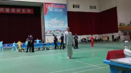 32势太极剑一参赛队员  王海明