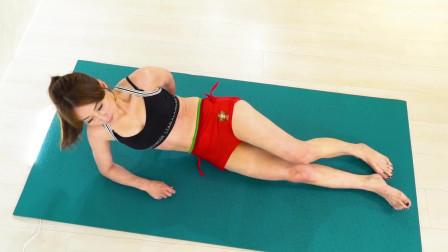 瑜伽体式训练,腿部伸展燃脂塑型,轻松打造筷子腿