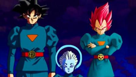 龙珠超EX:卡卡罗特和拉蒂兹联手战古拉,最后还是加贝救场