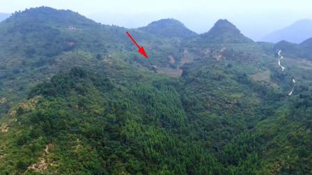 航拍土豪买的高山宝地,据说花了20万,看到朱雀感觉被坑了