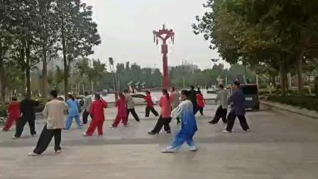 我和拳友们再练杨式太极拳(1)