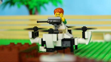 乐高Lego:开上自己组装的地效飞行器别提有多帅了!