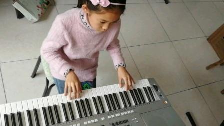 第29界奥运会主题歌《我和你》演奏者:四年级优秀学员武林淼