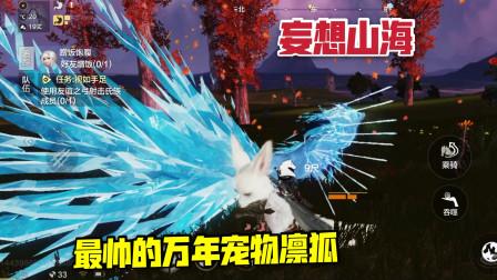 妄想山海22:山海经里最美的万年宠物,全身带冰的九尾狐!