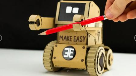 """最""""高科技""""的DIY纸板玩具!教程在这里,拿走不谢!"""