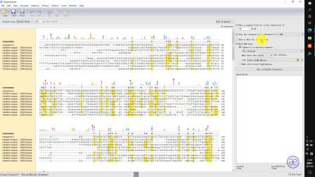 【四方居士】SG#15质粒图谱软件Snapgene工具中的多序列比对之DNA序列