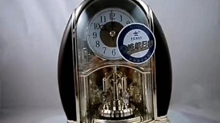霸王连续扫秒转摆台钟