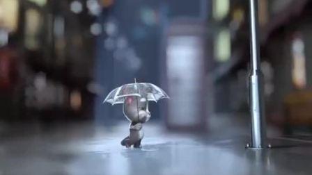 我的汤姆猫:下雨天,你会感到伤心吗?