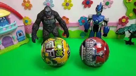 奥特曼的超级英雄变形蛋能变身吗?