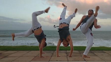 巴西战舞Capoeira 单人Flow健身动作套路(Aú trançado - Ponte - Ponte trocado - S dobrado)
