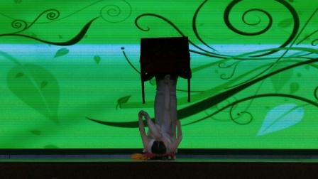 """淇县环保局""""舞动朝歌  欢乐淇县""""专场  杂技《蹬技》表演:濮阳市杂技团  珍珍  拍摄:淇河摄影 (二)"""