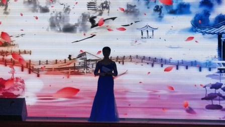 """淇县环保局""""舞动朝歌  欢乐淇县″专场 歌曲  表演:周瑞娜  拍摄:淇河摄影"""