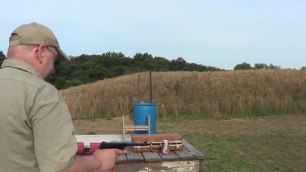 柯尔特22lr小口径手枪,几乎没有后坐力,不知道威力行不行