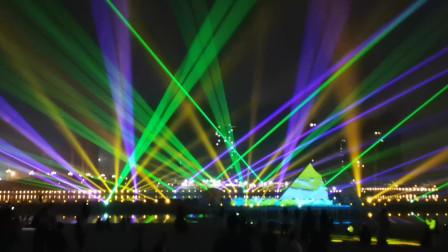 漯河灯光秀-我和我的祖国-万圣激光