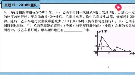 初中数学中考实战《一次函数》第六讲