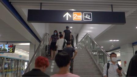 [2020.8]杭州地铁5号线 浙大紫金港-三坝 运行与报站 换乘2号线过程
