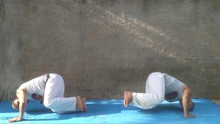 巴西战舞Capoeira 基本功练习 - 掌握 Queda de Rins(肾撑、Freeze)的10个练习方法【评论有中文详解】
