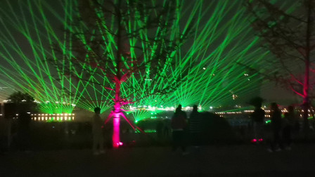 漯河大型激光灯光开场秀表演-万圣激光服务