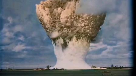 美军水下核爆炸