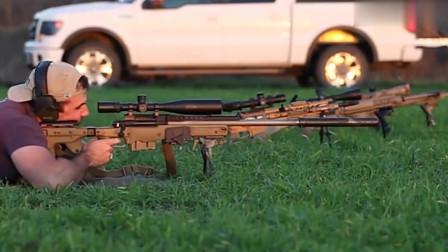 当狙击枪配上消音器,吃鸡朋友们最喜欢的吧!