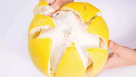 """柚子皮不要扔,加一勺食用碱,老""""值钱""""了,家家户户用得到"""