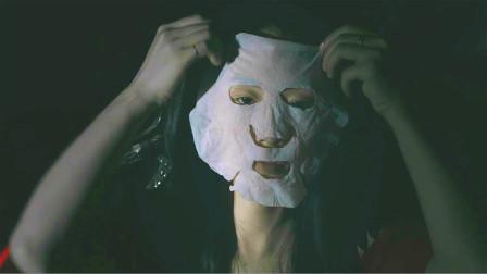 丑女捡别人用过的面膜,熬制后敷上就能偷走别人的美貌,但只能维持一天!