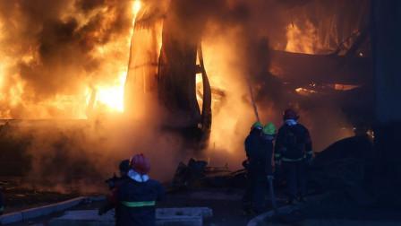 俄罗斯洲际导弹基地起火?200吨重国利器险被毁