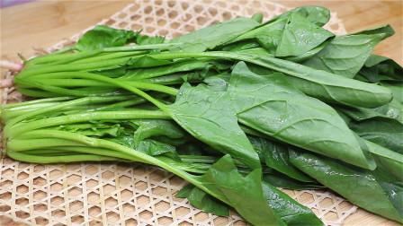 秋天吃菠菜,不要和这2种食物一起吃,教你正确吃法,真是太香了
