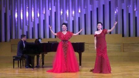 《一杯美酒》民族与美声的碰撞,演唱:张芝明 谢婷婷