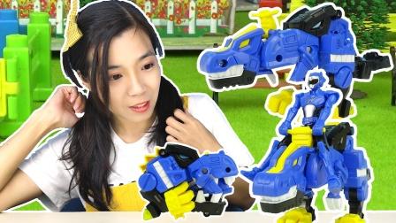 迷你特工队恐龙玩具,超级恐龙力量变身