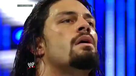 WWE精彩回顾:雷恩斯证明自己才是战队的领袖,他总能力挽狂澜