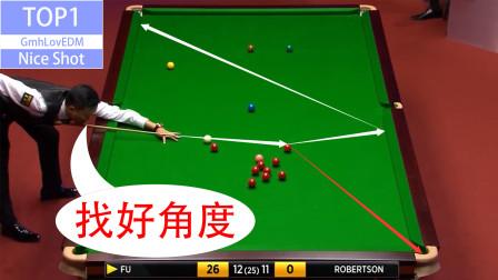 中国选手的这一杆神级薄球,真的让现场观众大开眼界!