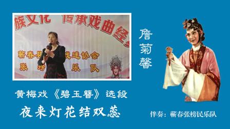黄梅戏《碧玉簪》选段- 夜来灯花结双蕊,表演:詹菊馨( 蕲春张榜民乐队 )