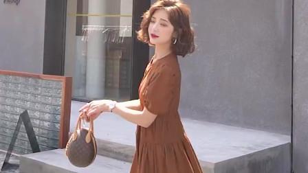 韩版宽松显瘦中长裙
