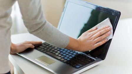 电脑屏幕有静电,灰尘毛絮太多?教你简单几步,就能解决,超干净