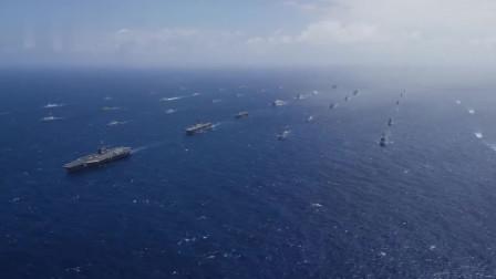190多艘军舰染上新冠病毒!美国海军被曝出大半舰艇都遭遇疫情