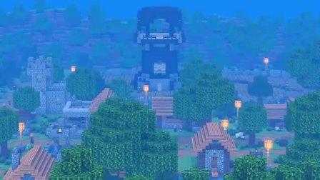 Minecraft动画:村民与守卫反对唤魔者的存在!