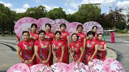 上海安亭百人艺术团国庆中秋双节旗袍秀