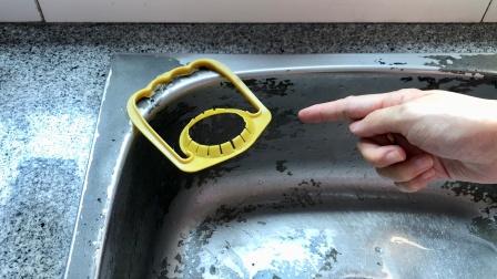 洗碗池上放一个油桶把手,作用太厉害了,全家人都抢着用,都学学