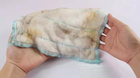 不管多脏的抹布,加这4样东西清洗,1分钟就能跟新买的一样干净
