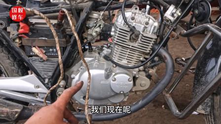 只需几毫升汽油就能修好长时间不骑的摩托车,师傅试过后真就可以