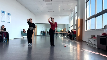 波老师养肺健身舞《万水千山总是情》*形体课示范