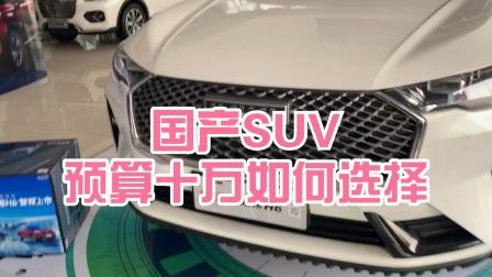 陪家人去看车,预算十万左右国产品牌SUV你会怎么选择?