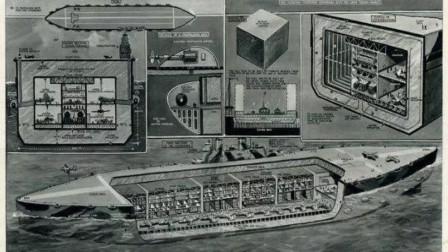 世界超重型航母有多牛?长度600米重量百万吨,一艘顶20艘尼米兹