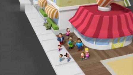 汪汪队:毛毛去救咕咕鸡和莉莉,结果自己也被困在上面!糟了。