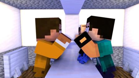 Minecraft动画:英雄儿子伤心的生活!